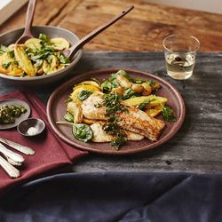 """DIY Dinners for Two, <a href=""""https://www.plated.com/"""">Plated</a>, $12 per meal."""