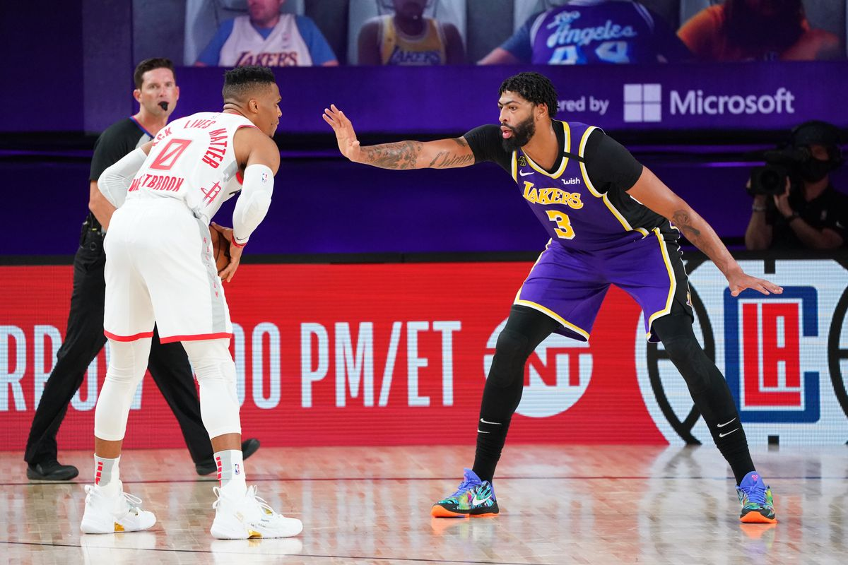 Nba Playoffs 3 Takeaways From The Lakers Losing Game 1 To The Rockets Silver Screen And Roll