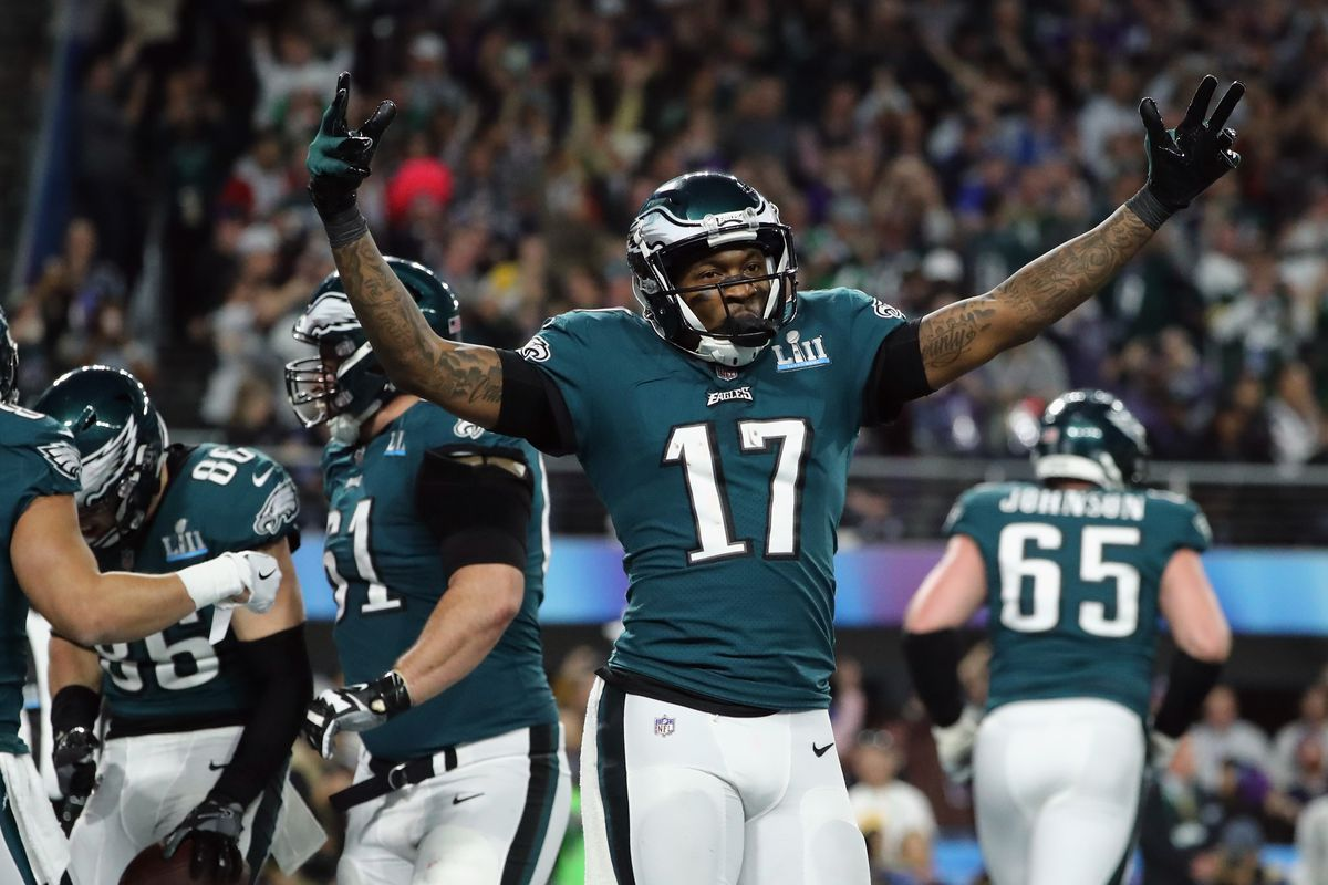 new style 20cfd 7f9bd Eagles News: Alshon Jeffery expects another Super Bowl win ...