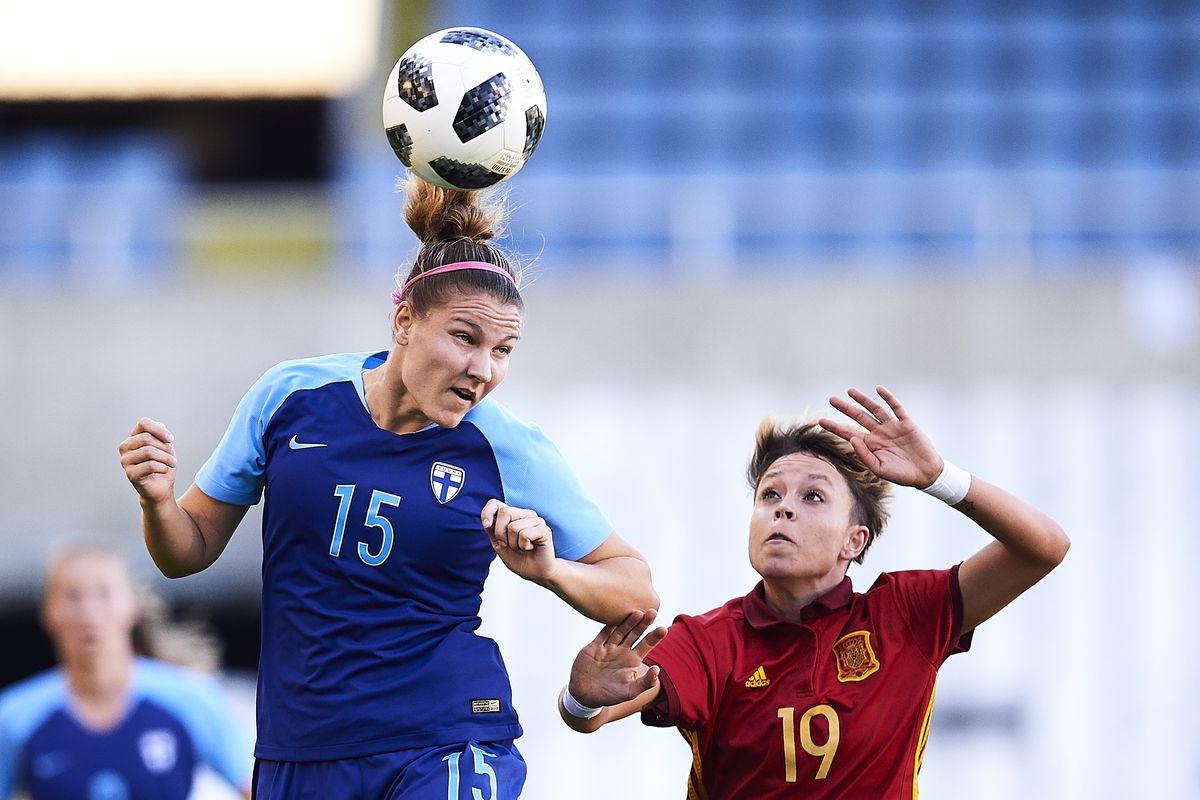 Spain v Finland - FIFA Women's World Cup Qualifier