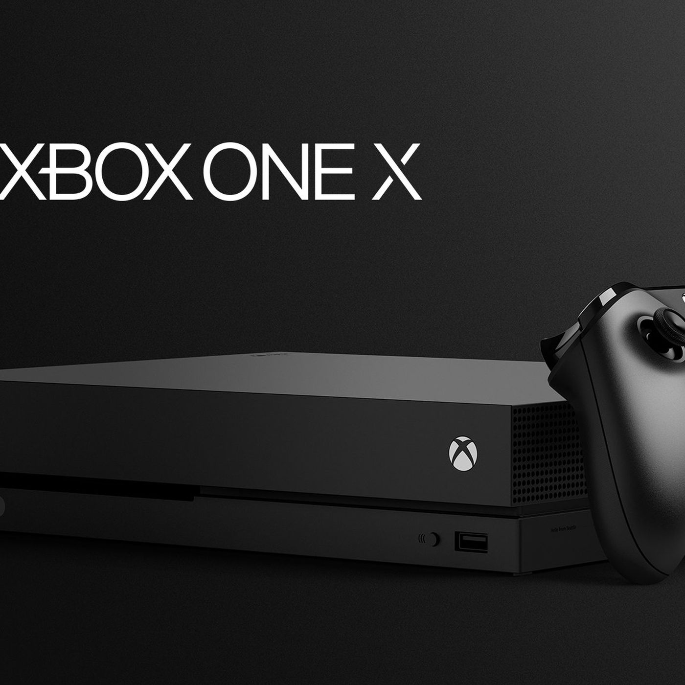 Xbox One X Is Microsofts Next Game Console Arriving On