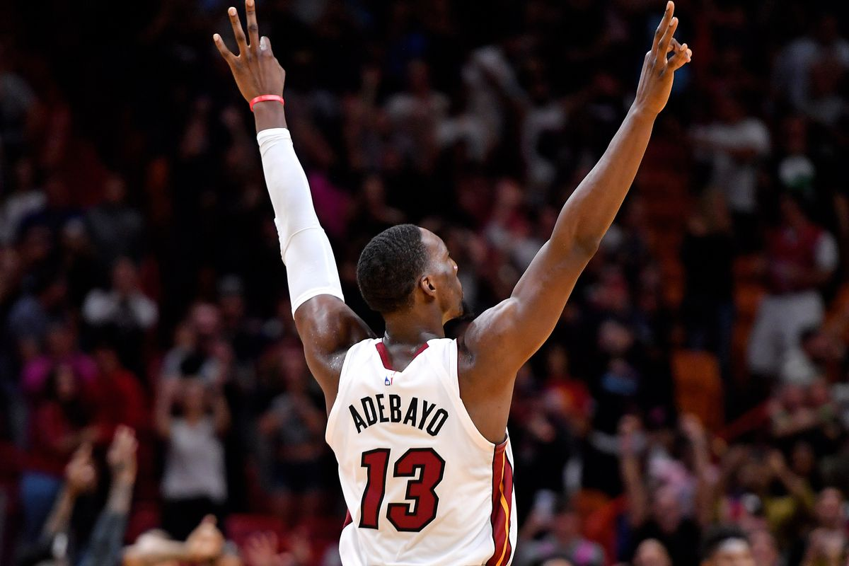 Jimmy Butler Bam Adebayo Stats Heat Players Both Post Massive Triple Doubles In Ot Win Over Hawks Draftkings Nation