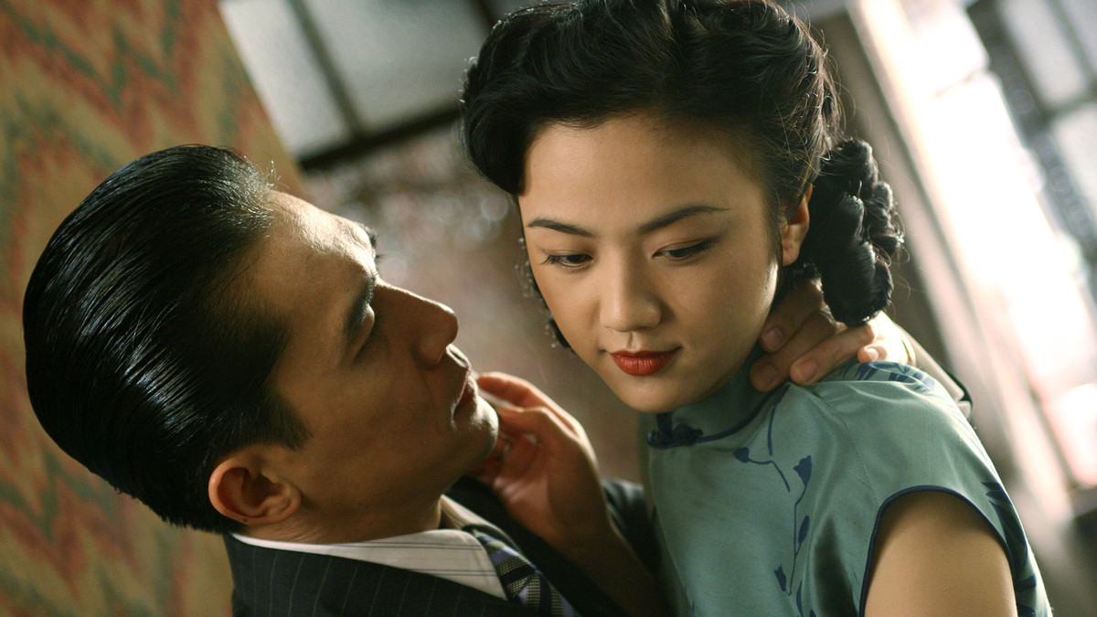 tony leung and tang wei in lust, caution