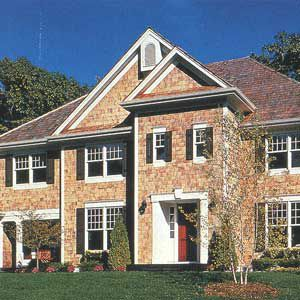 <p>At home on this traditional house, these divided-light, double-hung windows from Marvin's Integrity line are made of Ultrex, a composite-plastic material that won't warp or rot and can be painted. Price for an average-size window is $375.</p>
