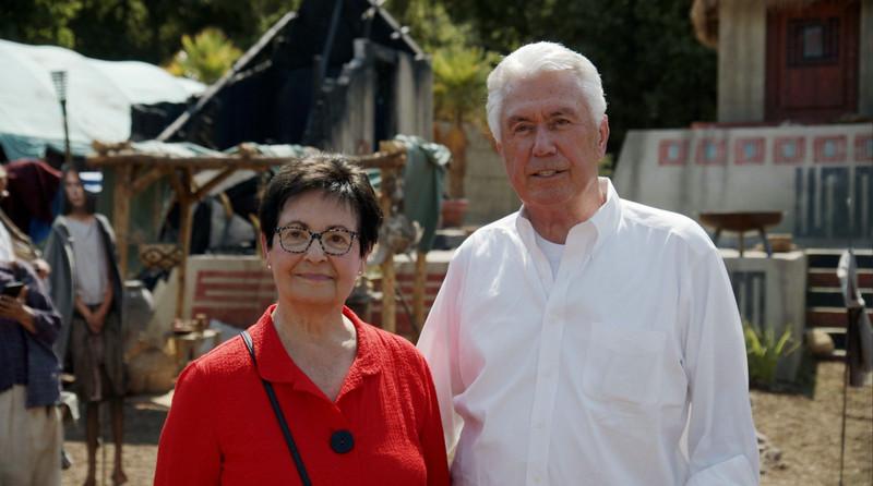 Elder Dieter F. Uchtdorf, of the Quorum of the Twelve Apostles, and his wife Harriet, are interviewed.