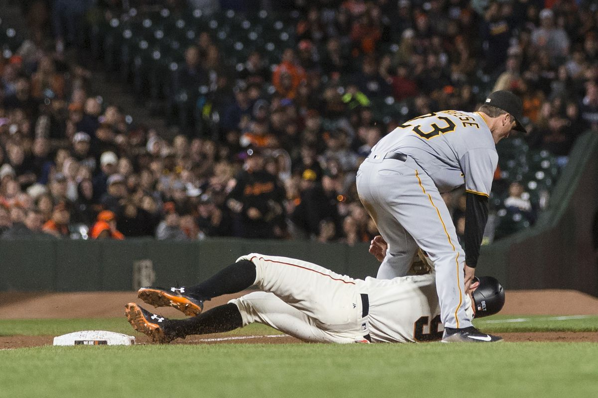 Giants lose ballgame, dignity - McCovey Chronicles
