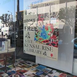 Limited edition poster benefits the Kensal Rise Library in London