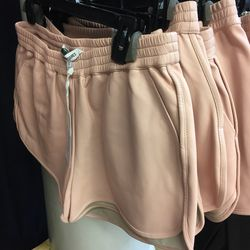 Leather shorts, $250 (were $345)