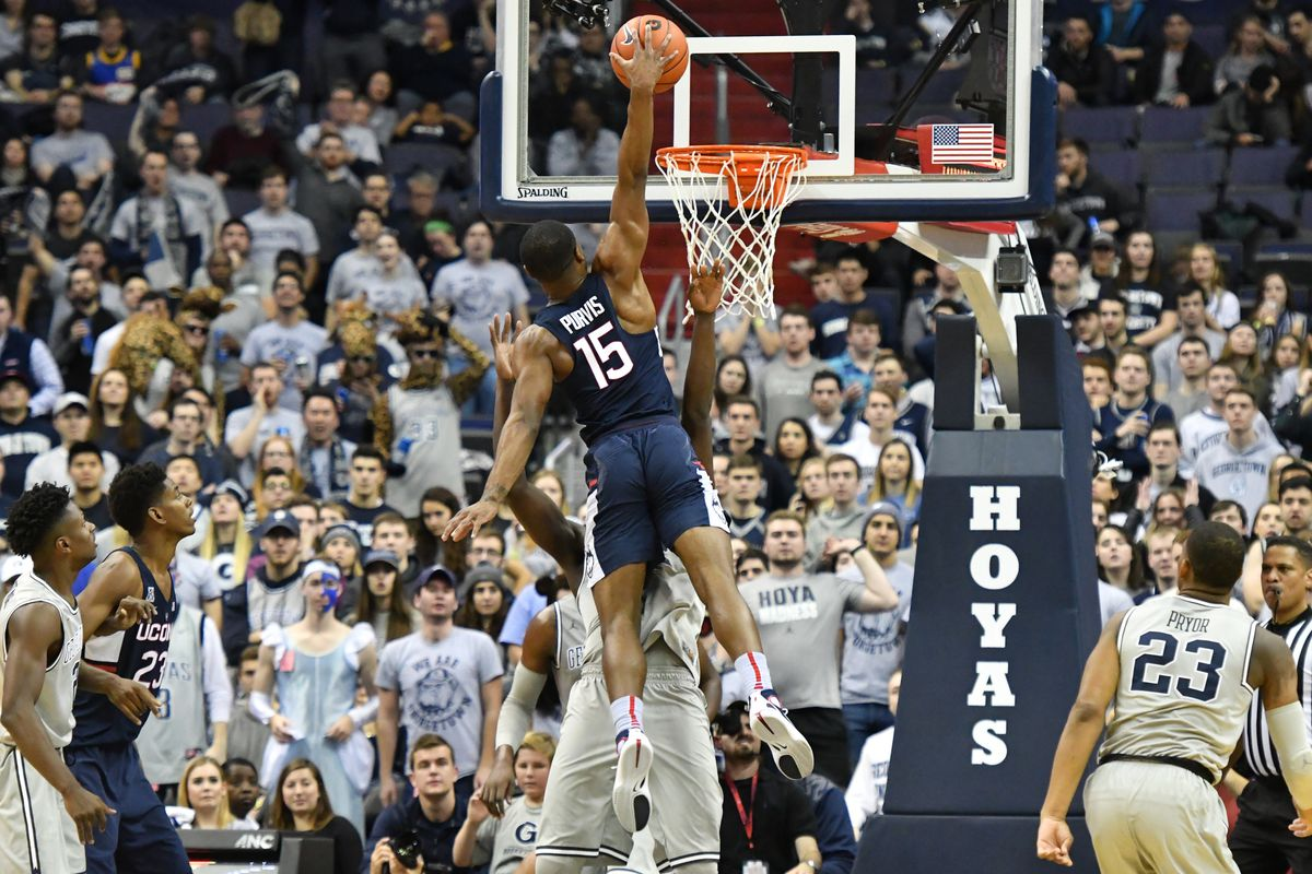 NCAA Basketball: Connecticut at Georgetown