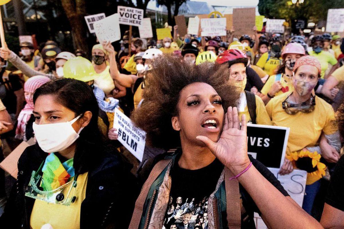 Portland protesters
