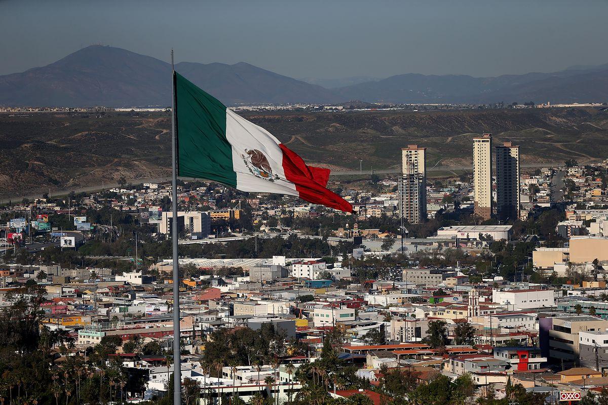 Shot of Tijuana, Mexico