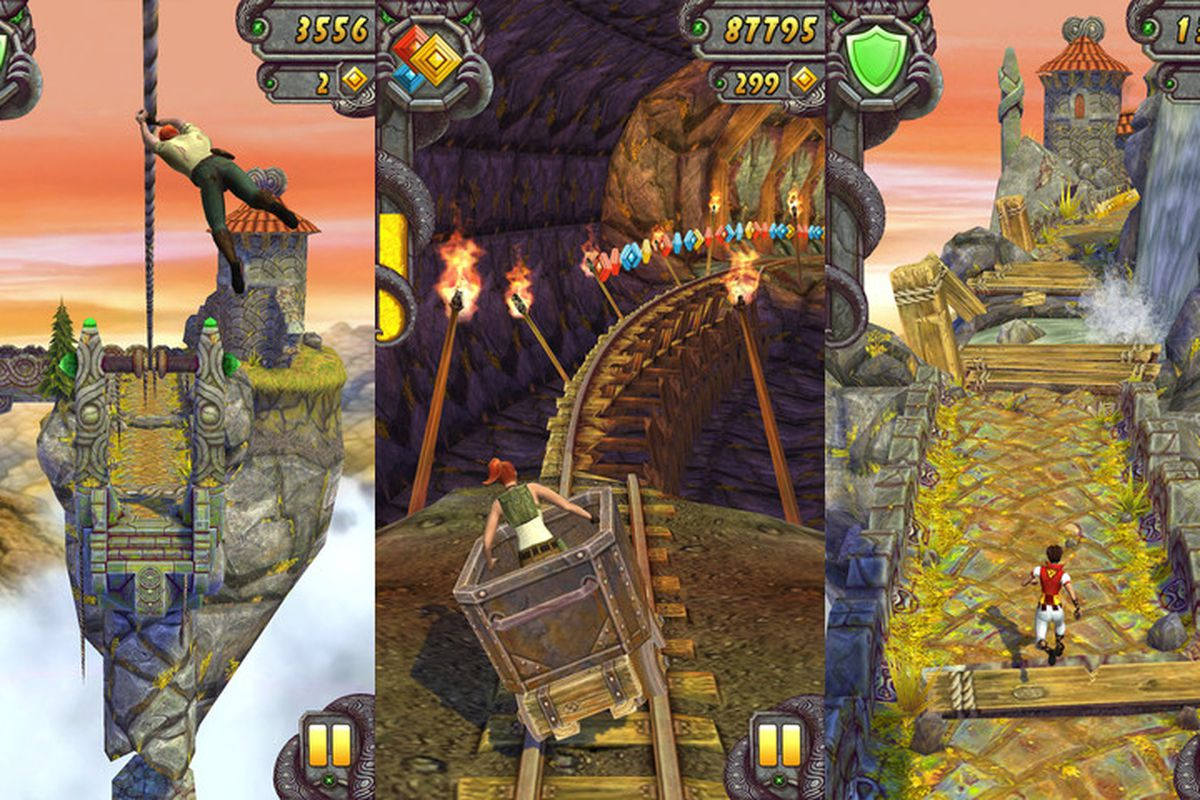 sports shoes 09987 868d1 Temple Run 2  coming to Android next week, iOS download available ...