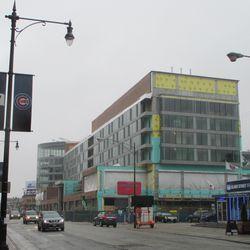 The Hotel Zachary, looking south along Clark Street