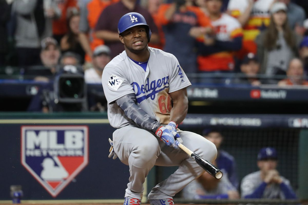 mlb trade rumors red sox declined dodgers jackie bradley jr  yasiel puig offer mlb daily