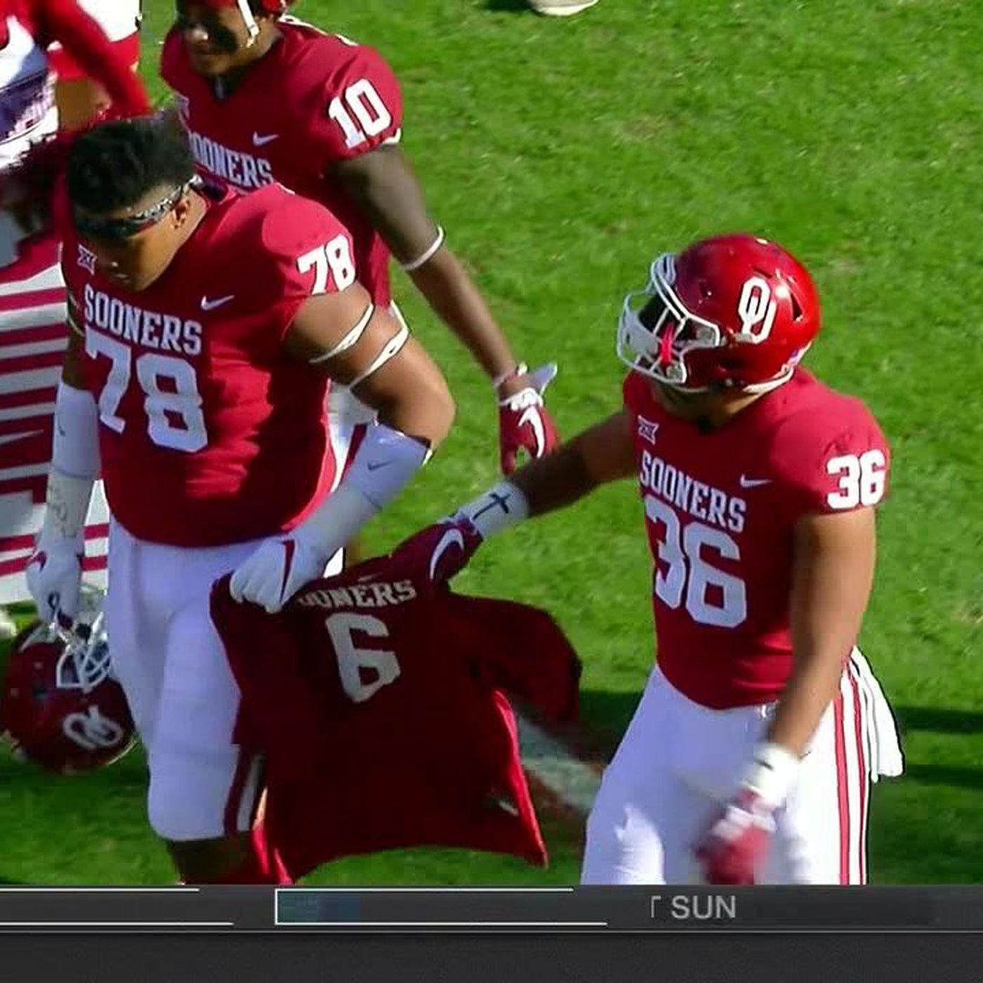 ou football player suspended