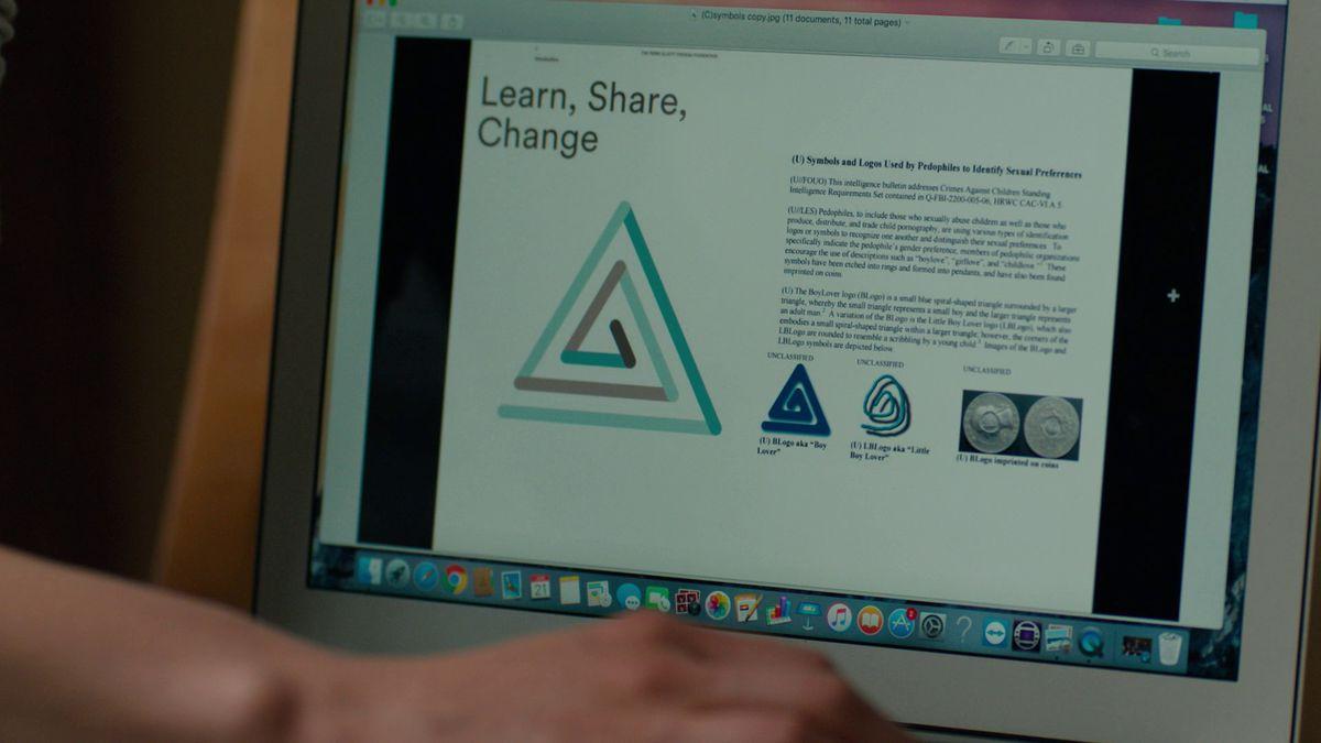 True Detective season 3 episode 7 pedophile symbols