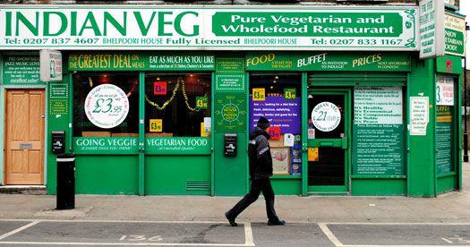 Indian Veg on Chapel Market in Islington, one of the best restaurants in Islington