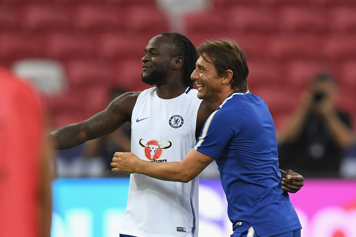 Moses talks up relationship with 'mentor and friend' Conte - We Ain't Got  No History