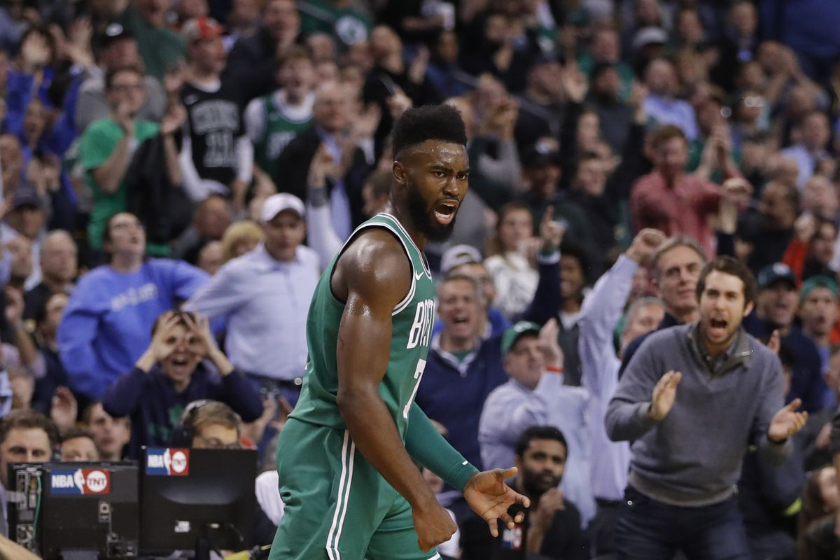 addaf92c877b Celtics vs. Warriors  How Jaylen Brown found the strength a day ...