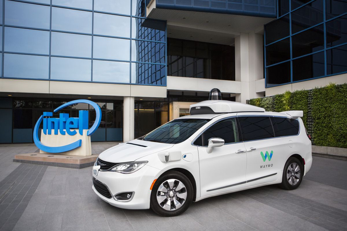 Intel, Waymo get behind the driverless wheel