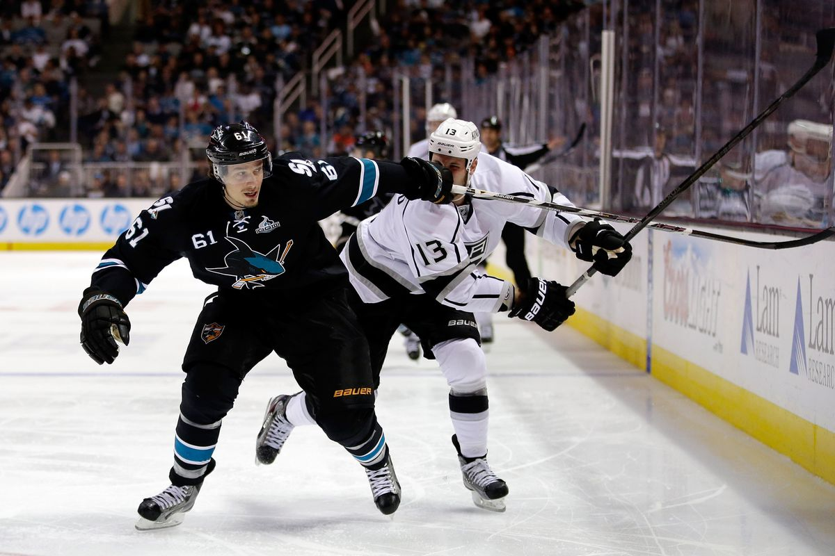 The Sharks held off the Kings in the third to force Game 7.