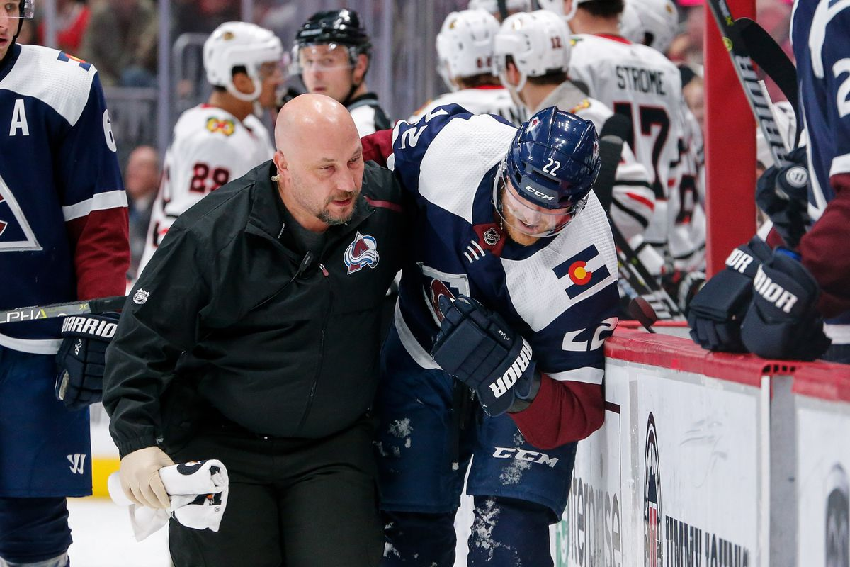 the latest 4f33b 9a529 Colorado Avalanche lose Colin Wilson to a shoulder injury ...