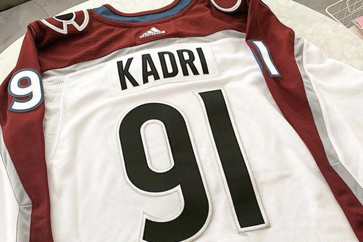 premium selection 0878b 96892 Nazem Kadri to wear No. 91 for the Colorado Avalanche - Mile ...