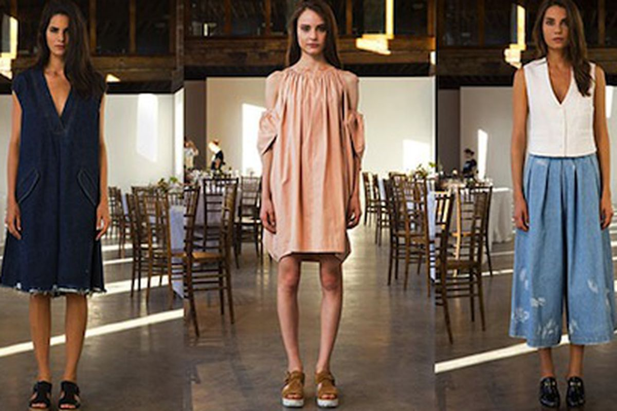 """Image via <a href=""""http://styledabba.com/the-best-of-nyfw-day-1-what-we-will-wear-in-spring14/rachel-comey-spring-2014/"""">StyleDabba</a>"""