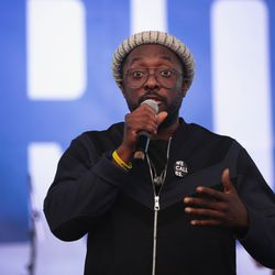 Singer Will.i.am performed at the peace march and rally with Parkland students | Scott Olson/Getty Images