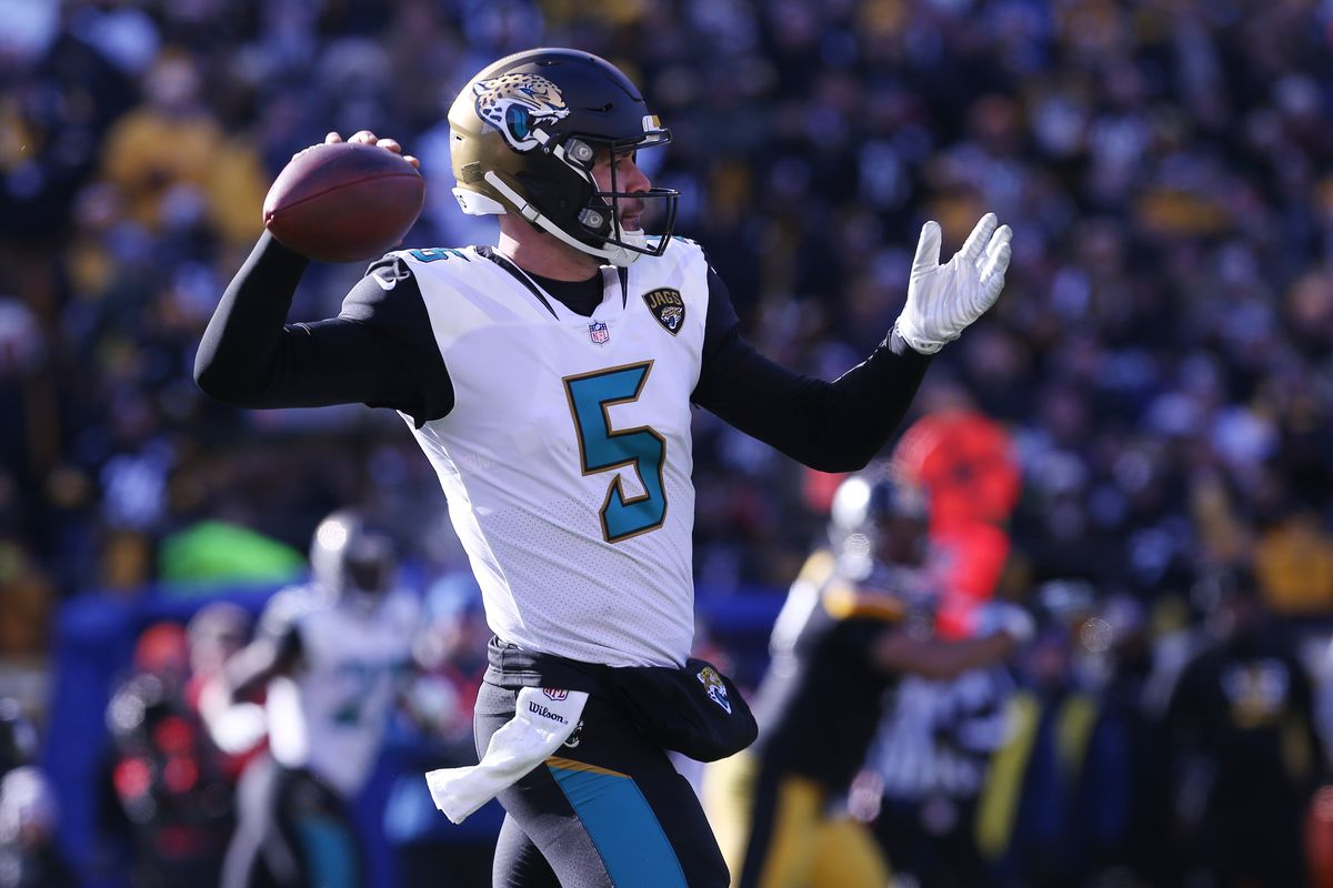 Blake Bortles Is Here to Save the Playoffs