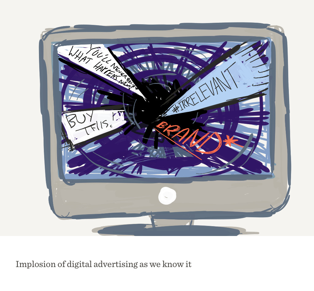 implosion of digital advertising