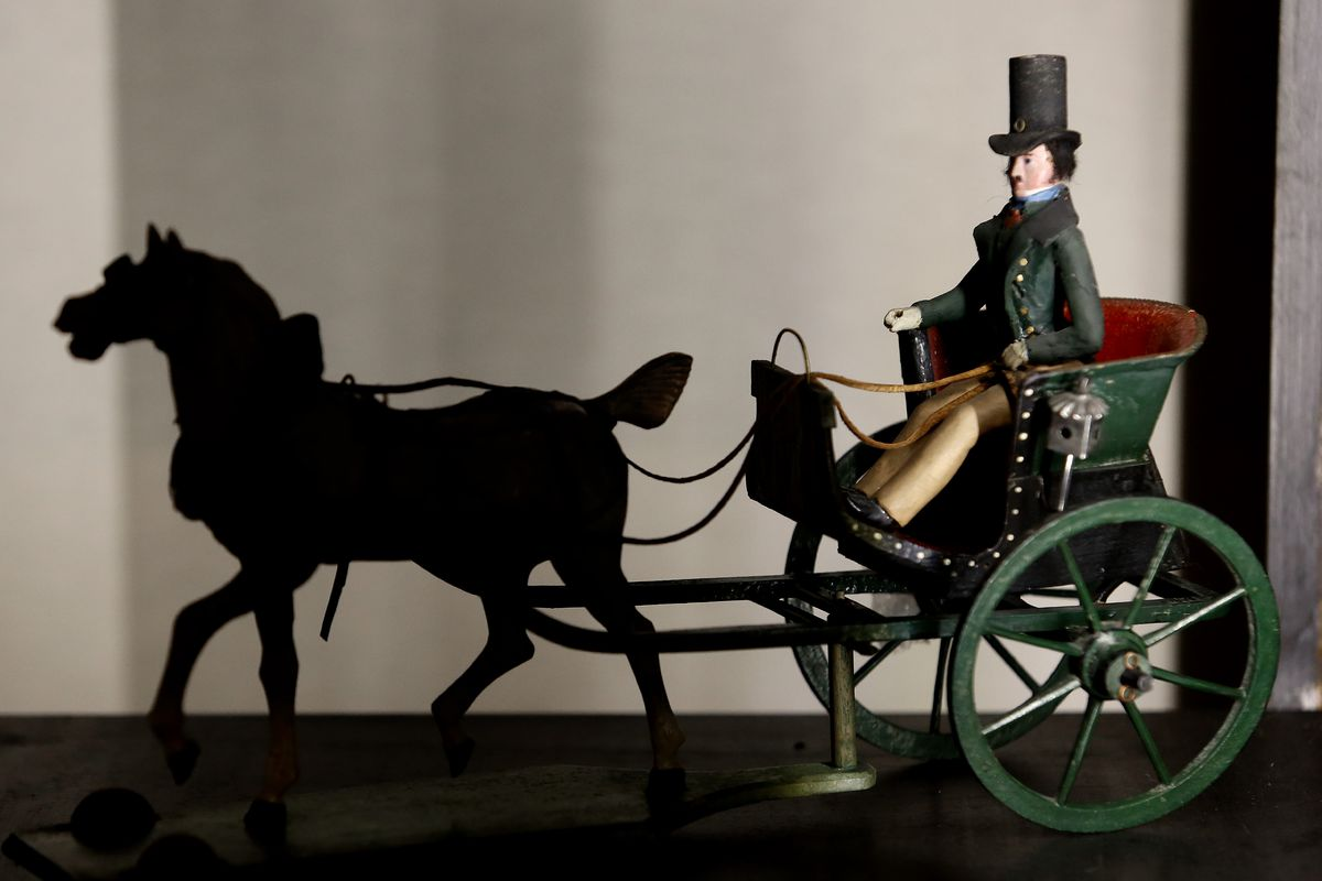 Italy Exhibition of antique toys at Palazzo Braschi