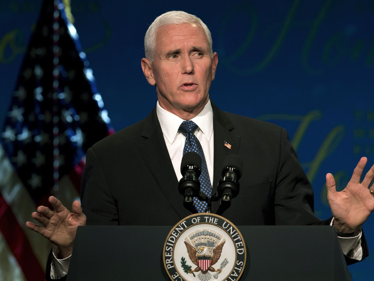 Vice President Mike Pence criticized Nike and the NBA in a speech.