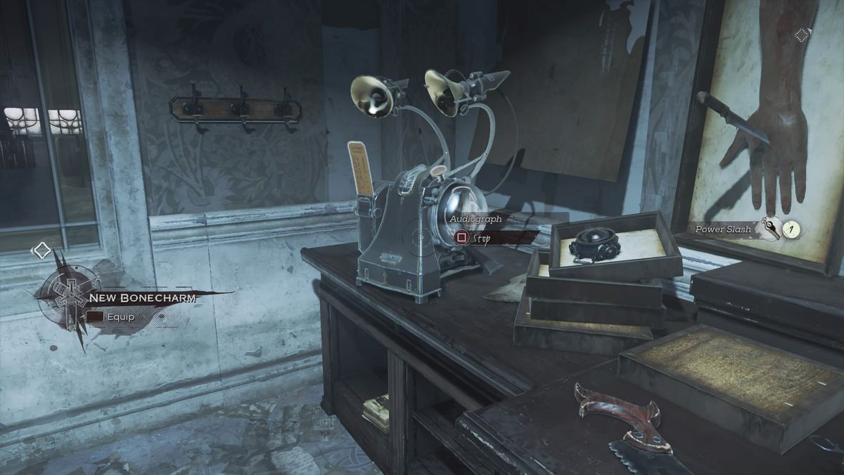 Dishonored  Dr Hypatia Room Key