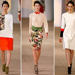 Colorblocking reigns supreme at Preen-Fall 2012