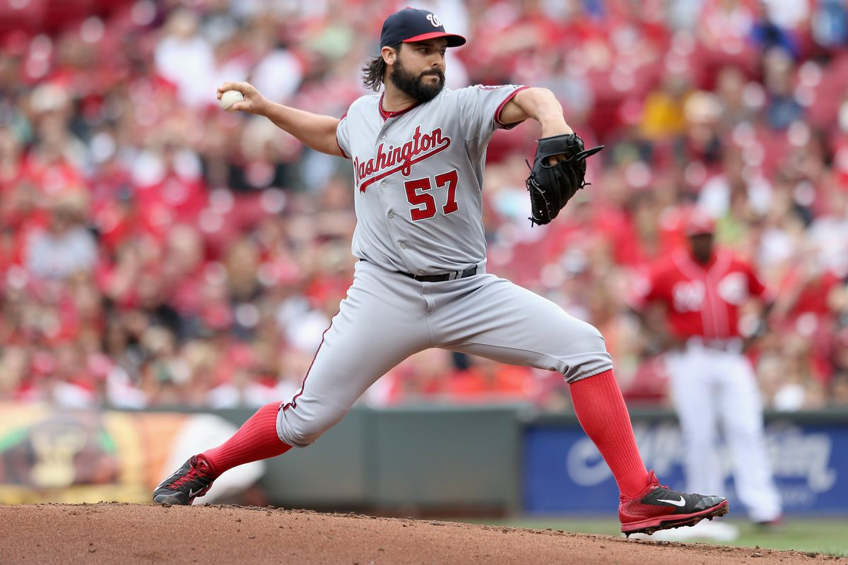 Tanner Roark hit Joey Votto with a 92 MPH fastball just above the waist on Sunday. There wasn't really any question of intent. Was it the right call?