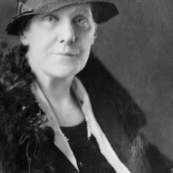 Anna Jarvis is pictured in this undated photo. Jarvis was instrumental in the establishment of Mother's Day, which is celebrating its 100th anniversary this year.