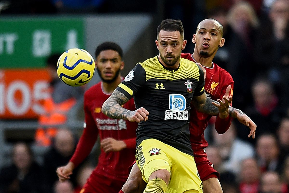Liverpool FC v Southampton FC - Premier League Ralph Hasenhuttl says Saints should have got a penalty from Fabinho's tackle on Danny Ings at Anfield