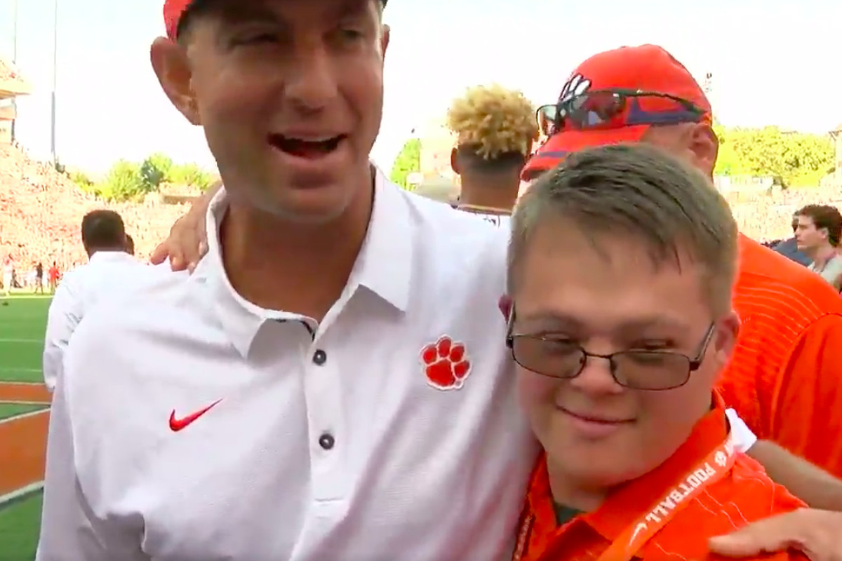 Dabo Swinney recalls days at Alabama after Clemson's big win over Auburn