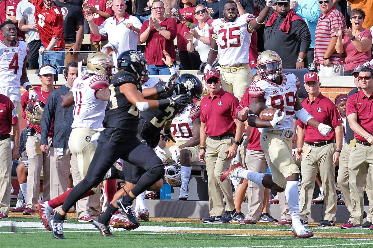 COLLEGE FOOTBALL: SEP 30 Florida State at Wake Forest