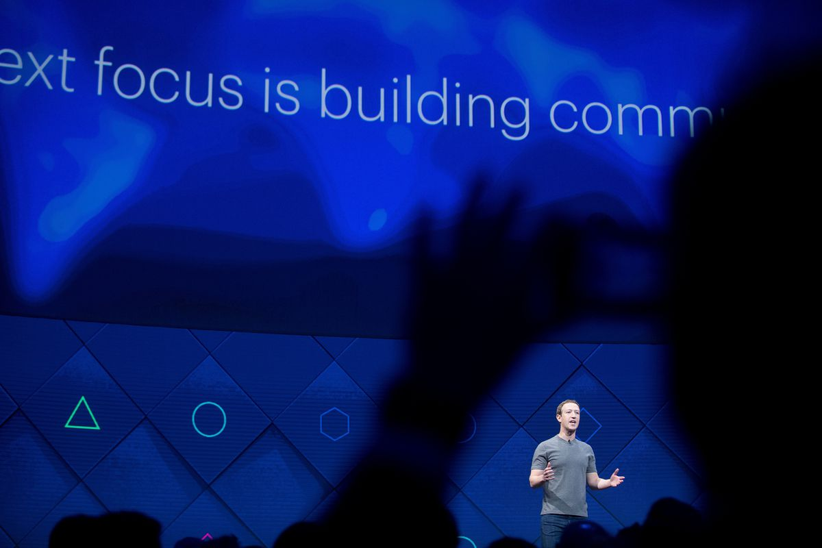 FILE- In this April 19, 2017, file photo, Facebook CEO Mark Zuckerberg speaks at his company's annual F8 developer conference in San Jose, Calif. Facebook's new privacy policy aims to explain the data it gathers on users more clearly, but doesn't actually