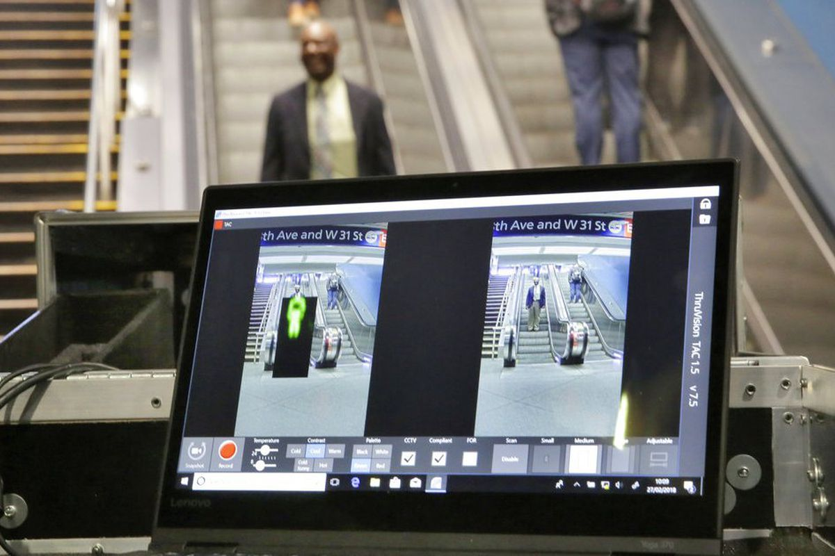 LA to become first in US to install subway body scanners - Chicago