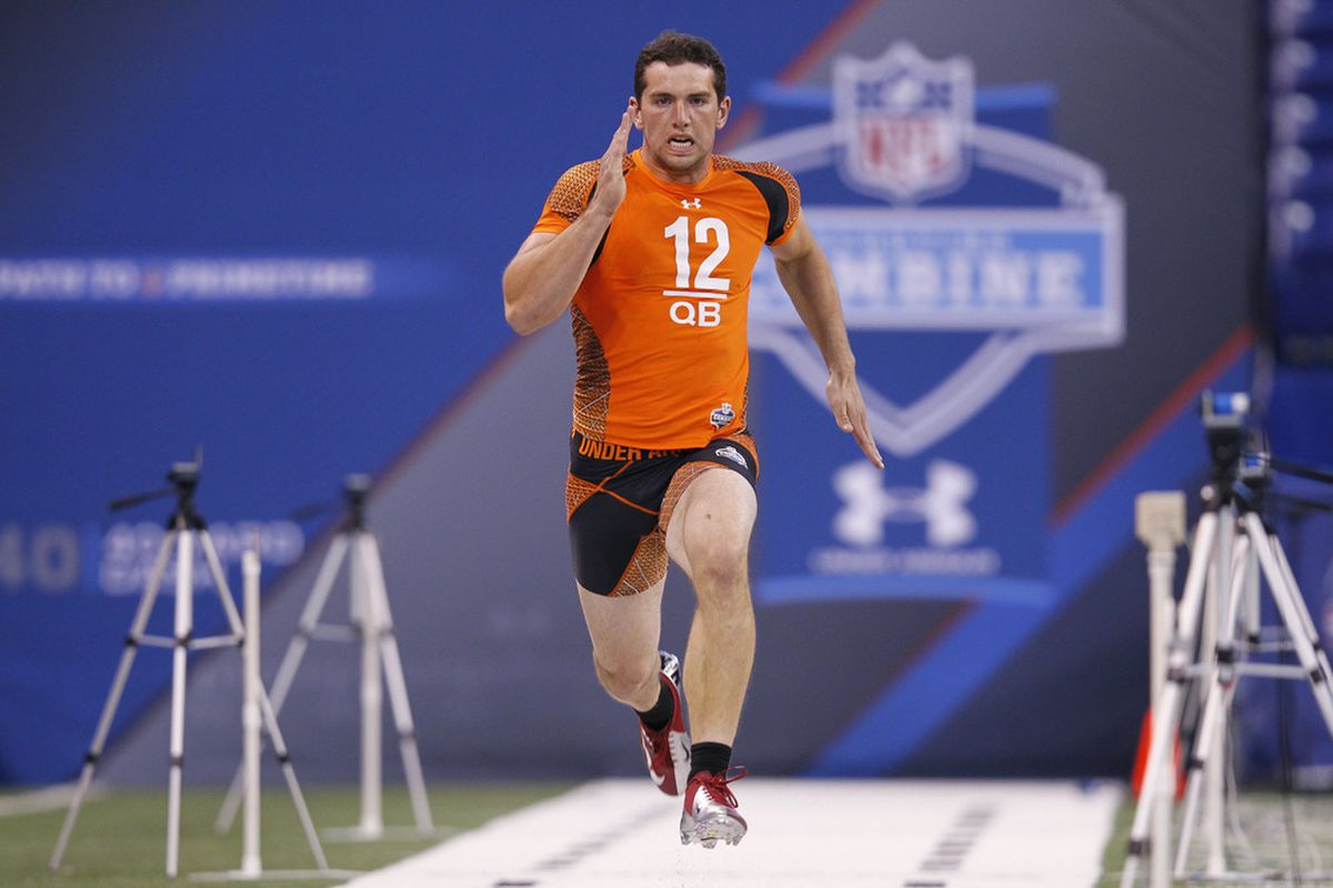 Andrew Luck turned some heads with his 40 time at the NFL Scouting Combine.