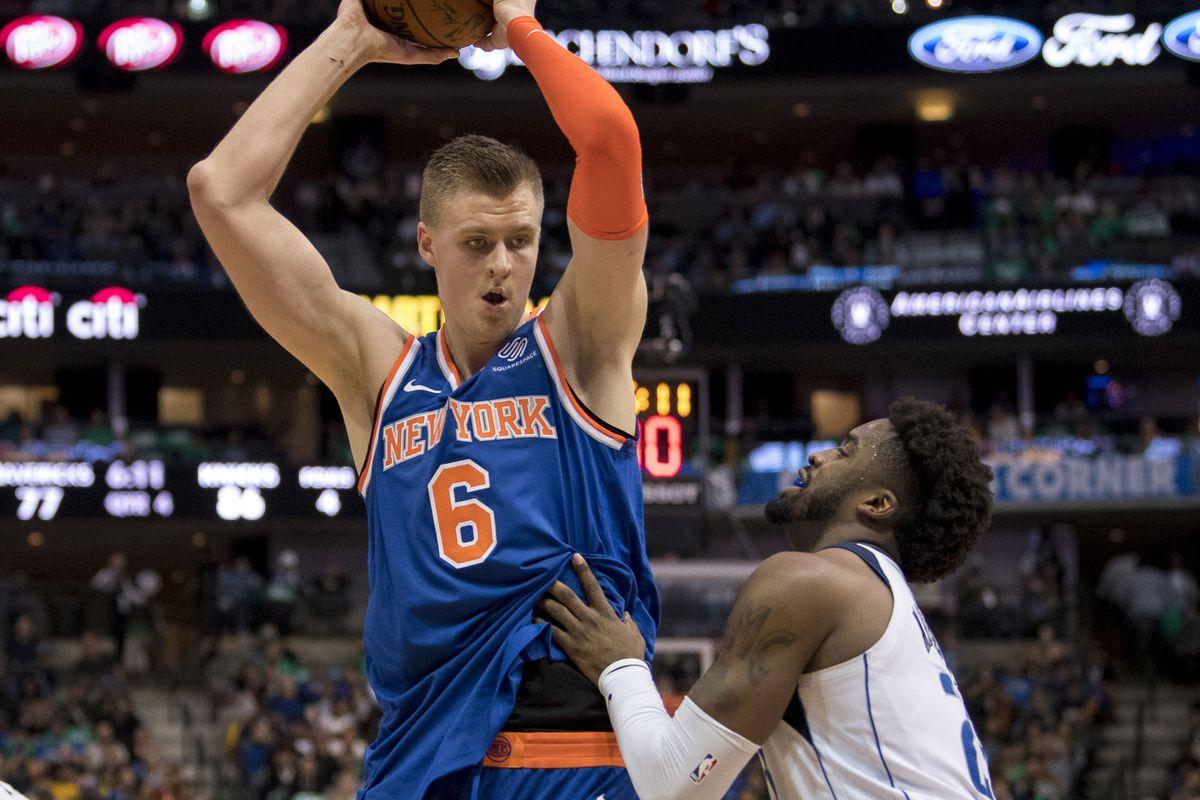 362eb4542cb Mavericks trade for Knicks  Kristaps Porzingis - Mavs Moneyball