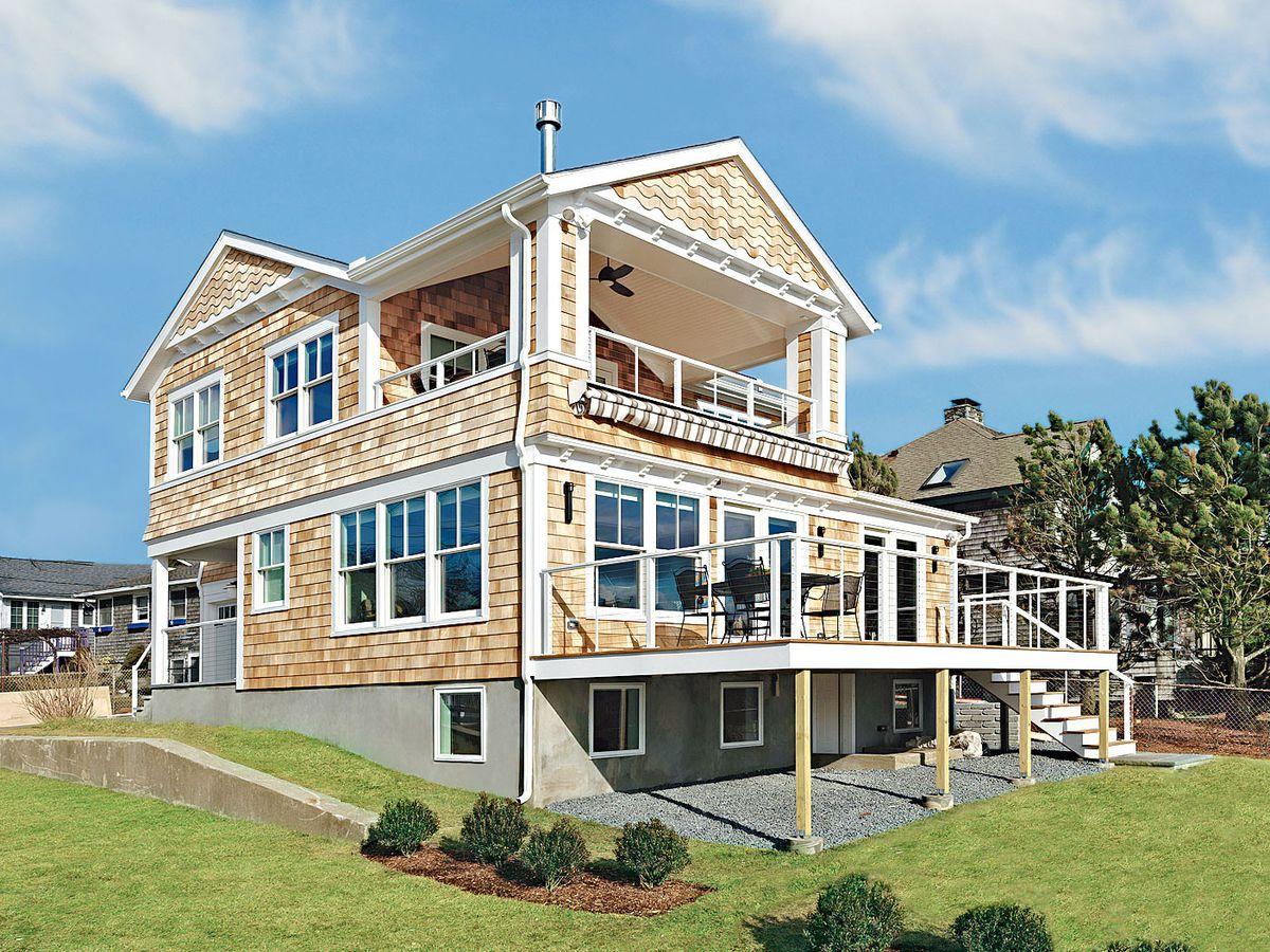 Season 33 - Barrington Beach House exterior