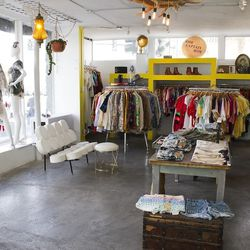 """<strong><a href=""""http://www.electriclemonadeshop.com/"""">Electric Lemonade</a></strong> (220 E. Charleston Blvd.) features vintage and newer clothing on two levels. Photo: Chelsea McManus"""