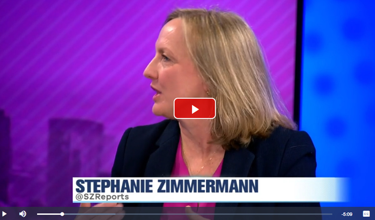 """Click here for reporter Stephanie Zimmermann talking about expected utility rate hikes on WCIU-TV's """"The Jam."""""""