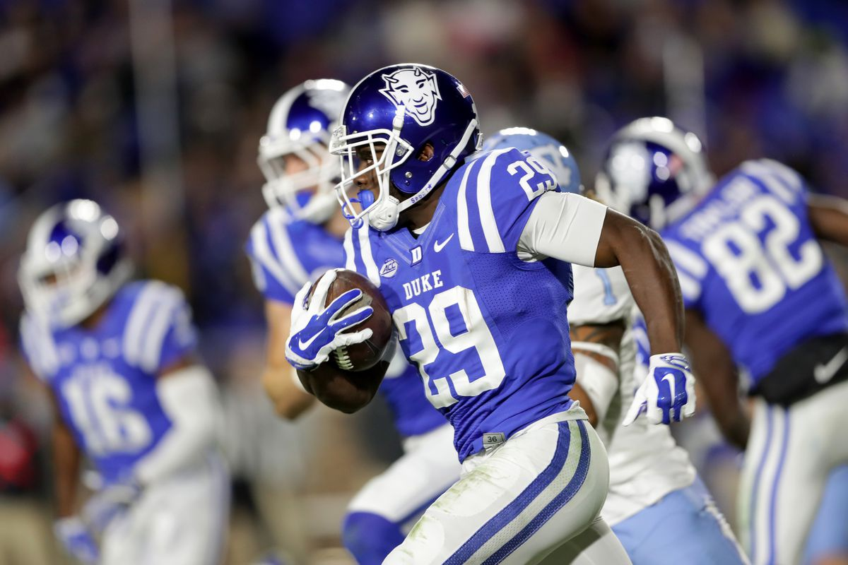 Duke Football Bob Breaks Down Running Backs Duke Basketball Report