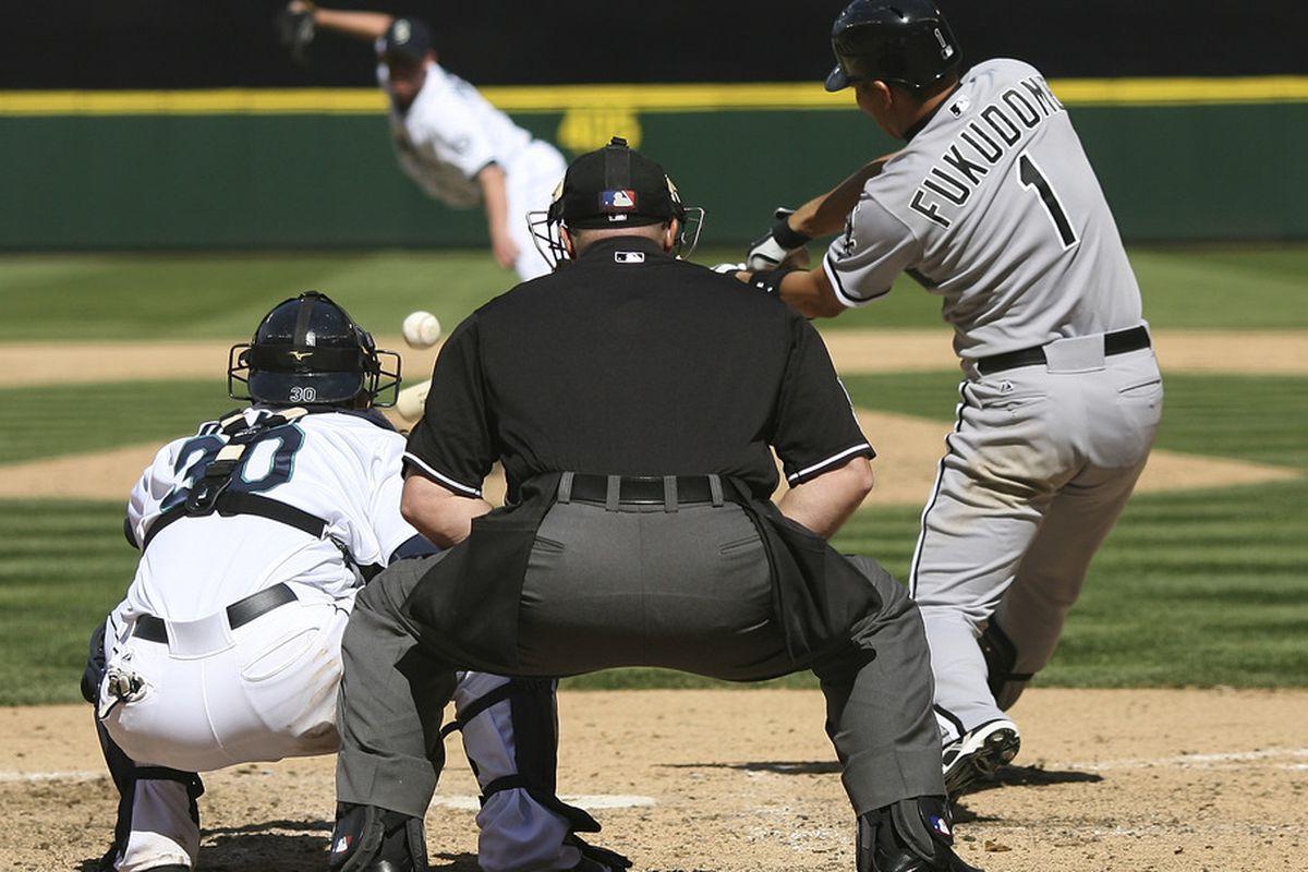 Kosuke Fukudome gives the Sox the lead for good.