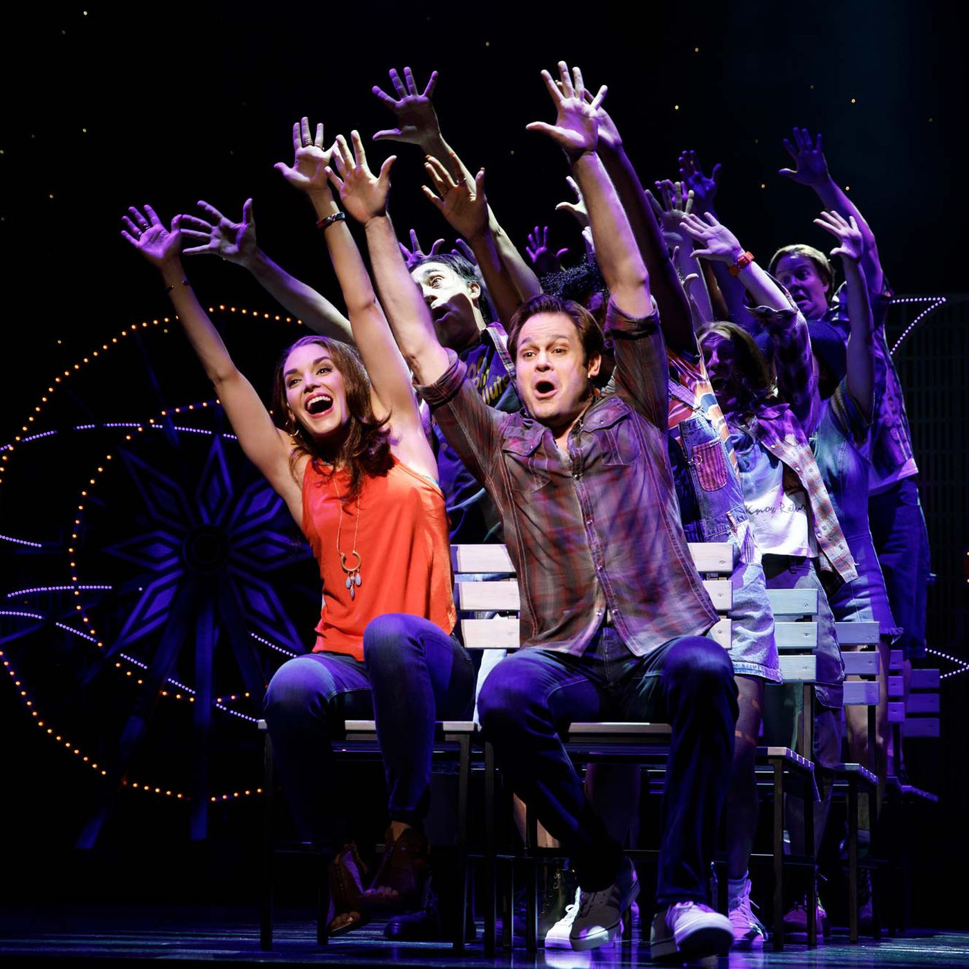 Review: Gettin' the Band Back Together is a joyous musical